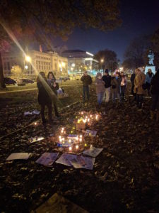 Vigil for Aleppo, St. Louis, Dec 21st, 2016